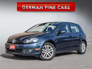 Used 2011 Volkswagen Golf TDI COMFORTLINE** CD PLAYER, HEATED SEATS** for sale in Bolton, ON