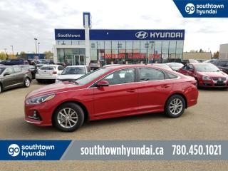 New 2018 Hyundai Sonata GL - 2.4L POWER OPTIONS/COLOUR TOUCHSCREEN/BLINDSPOT DETECTION for sale in Edmonton, AB