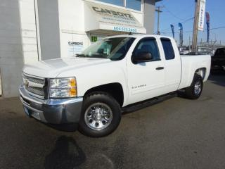 Used 2013 Chevrolet Silverado 1500 LS Extended Cab 6.5 Box, 2WD, One Owner for sale in Langley, BC