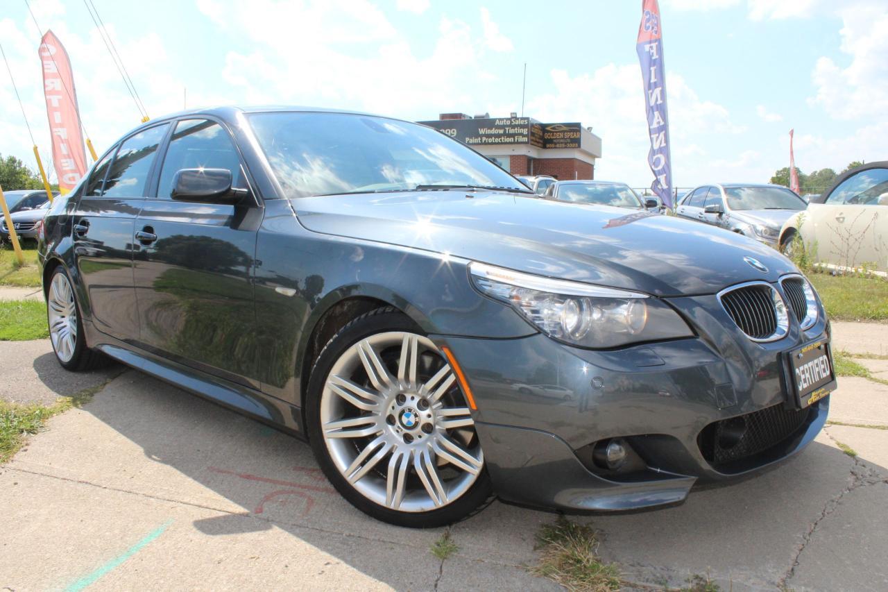 2010 BMW 5 Series 550i MSport CLEAN CARPROOF/NAVI/CAM/HUD