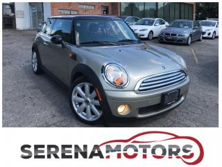 Used 2008 MINI Cooper ONE OWNER | HEATED SEATS | 6 SPEED MANUAL for sale in Mississauga, ON