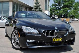 Used 2012 BMW 650i CONVERTIBLE! LOADED! CHEAP FINANCING for sale in Oakville, ON