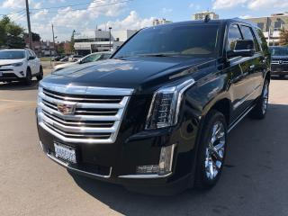 Used 2016 Cadillac Escalade Platinum for sale in North York, ON