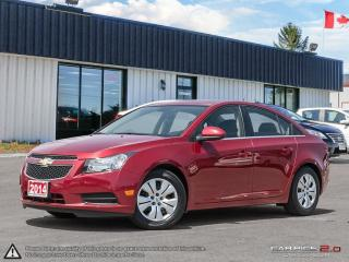 Used 2014 Chevrolet Cruze 1LT,LOW KMS,B.TOOTH,USB,SATELLITE RADIO for sale in Barrie, ON