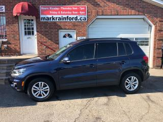 Used 2014 Volkswagen Tiguan Comfortline 4Motion 2.0 T Bluetooth Heated Cloth for sale in Bowmanville, ON