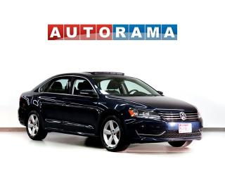 Used 2015 Volkswagen Passat BACKUP CAM LEATHER SUNROOF ALLOY WHEELS for sale in Toronto, ON