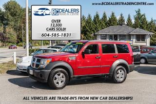 Used 2007 Dodge Nitro SE V6, 176k, Affordable, Power Group, Local! for sale in Surrey, BC