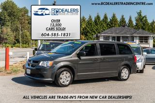 Used 2011 Dodge Grand Caravan SE, Local, Low Km's, Stow 'N Go, Clean! for sale in Surrey, BC