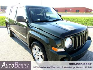 Used 2010 Jeep Patriot 2.4L North Edition * Certified* for sale in Woodbridge, ON