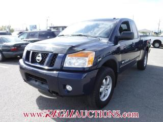 Used 2008 Nissan Titan PRO-4X King CAB 4WD for sale in Calgary, AB
