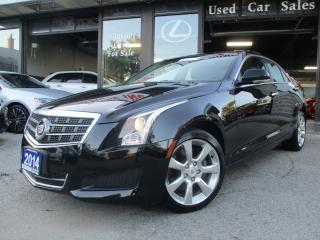 Used 2014 Cadillac ATS 2.0L Turbo Luxury-NAVIGATION-AWD-CAMERA-LOADED for sale in Scarborough, ON