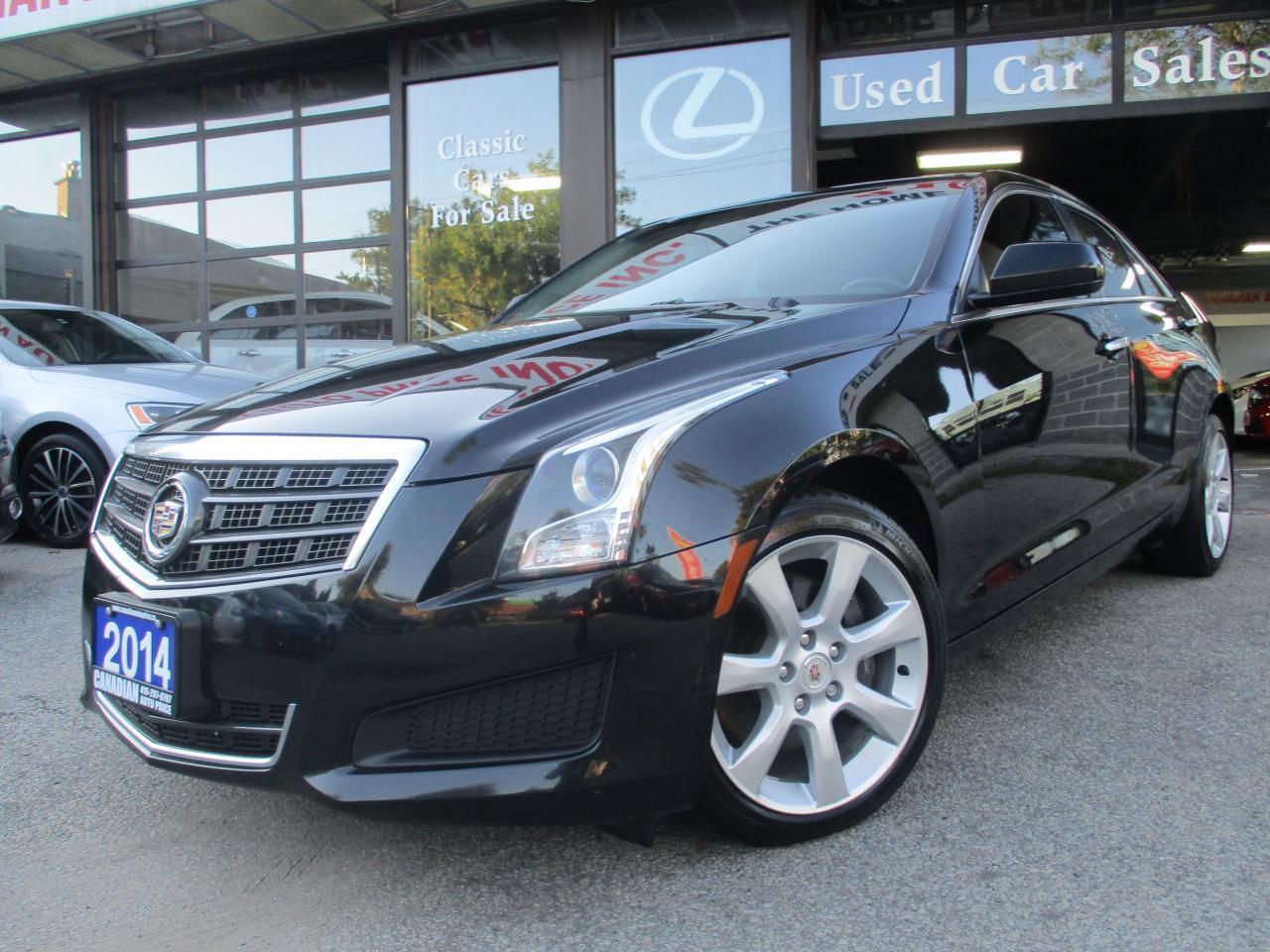 2014 Cadillac ATS AWD-2.0L Turbo-AWD-PRM-PKG-LOADED