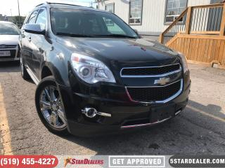 Used 2014 Chevrolet Equinox LTZ | NAV | LEATHER | ROOF | 1 OWNER for sale in London, ON