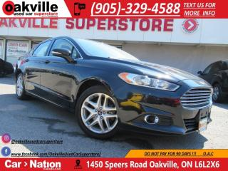 Used 2013 Ford Fusion SE | LEATHER | HEATED SEATS | BLUETOOTH | LOW KM for sale in Oakville, ON