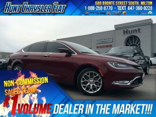 Used 2015 Chrysler 200 C/AWD/LEATHER/NAV/CAM/RMT STRT & MORE!! for sale in Milton, ON