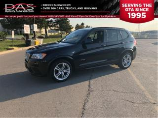 Used 2014 BMW X3 xDrive28i M PKG NAVIGATION/PANORAMIC SUNROOF for sale in North York, ON