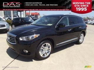 Used 2013 Infiniti JX35 TECHNOLOGY NAVIGATION/DVD PKG/PANORAMIC ROOF for sale in North York, ON