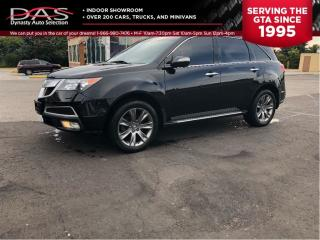 Used 2011 Acura MDX Elite Package Navigation/DVD/Sunroof/Leather for sale in North York, ON