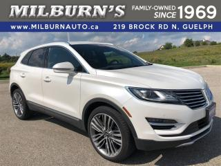 Used 2016 Lincoln MKC Reserve AWD for sale in Guelph, ON