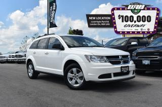 Used 2016 Dodge Journey SE - 2.4L FWD, Dark Tint, Roof Rack, Cruise for sale in London, ON
