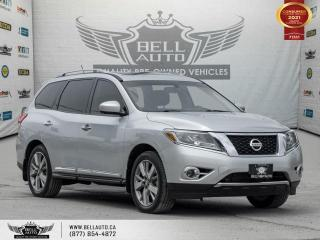 Used 2014 Nissan Pathfinder Platinum, 4WD, Navi, Dual SunRoof, 360Cam, 7Pass, NoAccident for sale in Toronto, ON