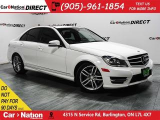 Used 2014 Mercedes-Benz C-Class C300 4MATIC|SUNROOF|LEATHER| for sale in Burlington, ON