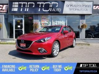 Used 2014 Mazda MAZDA3 GT-SKY ** 38,310 Km, Nav, Sunroof, Leather** for sale in Bowmanville, ON