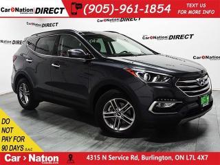 Used 2018 Hyundai Santa Fe Sport 2.4 SE BACK UP CAM LEATHER INTERIOR for sale in Burlington, ON