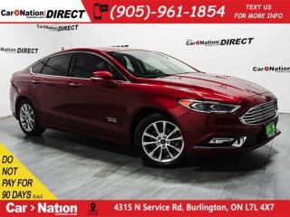 Used 2017 Ford Fusion Energi SE Luxury|PUSHSTART|NAV|BACKUPCAM for sale in Burlington, ON