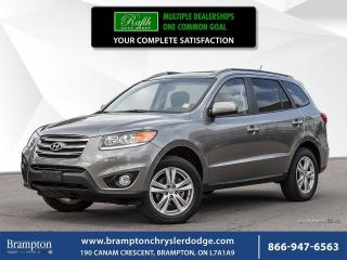 Used 2012 Hyundai Santa Fe LIMITED   1 OWNER TRADE-IN   for sale in Brampton, ON
