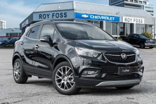 Used 2017 Buick Encore Sport Touring Nav Sunroof for sale in Thornhill, ON