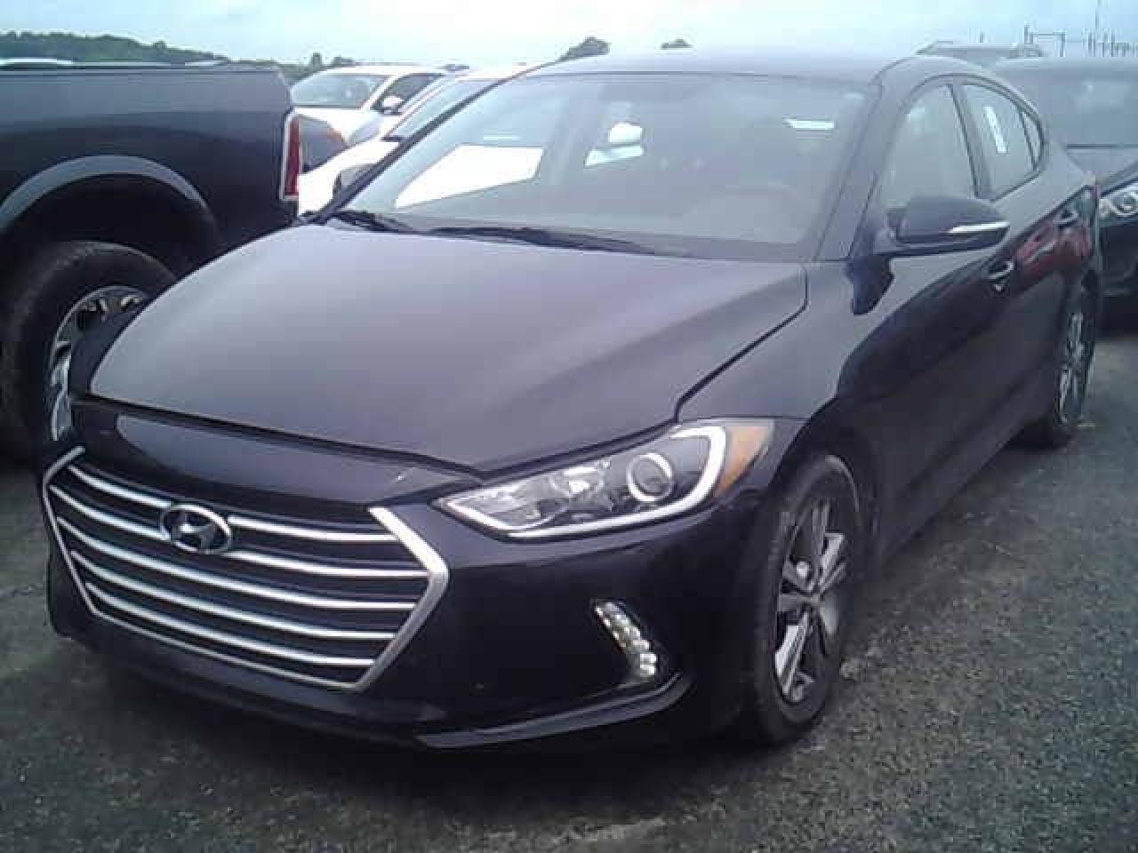 Photo of Black 2017 Hyundai Elantra