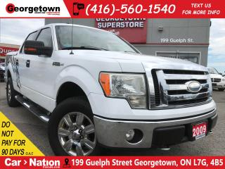 Used 2009 Ford F-150 XLT | 4X4 | V8 | LEATHER | CLEAN CARPROOF for sale in Georgetown, ON