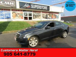 Used 2014 Cadillac ATS 2.0 Turbo  AWD CUE CAMERA BOSE-SURROUND HEATED SEATS CLIMATE for sale in St. Catharines, ON