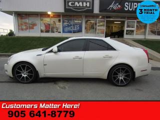 Used 2009 Cadillac CTS 3.6L  AWD PERF-PKG PANO-ROOF MEM BT HOME-REMOTES 18 -ALLOYS for sale in St. Catharines, ON