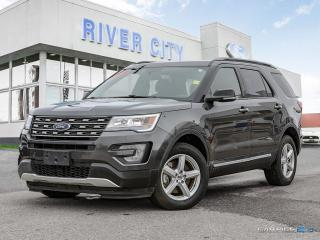 Used 2017 Ford Explorer 3.5L- LEATHER- MOONROOF- NAV for sale in Winnipeg, MB
