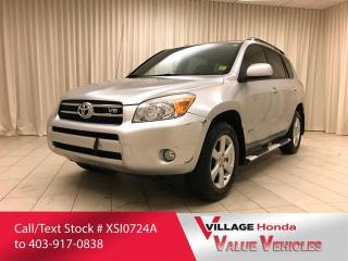 Used 2008 Toyota RAV4 LIMITED V6 for sale in Calgary, AB
