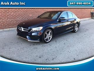 Used 2015 Mercedes-Benz C-Class C300 4MATIC Sedan for sale in Mississauga, ON
