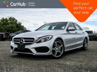 Used 2015 Mercedes-Benz C-Class C 300|4Matic|Navi|Pano Sunroof|Backup Cam|Bluetooth|Keyless|18