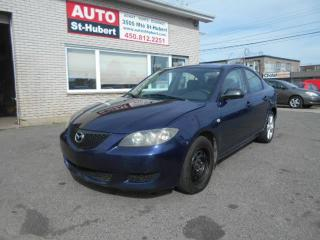 Used 2004 Mazda MAZDA3 GS for sale in Saint-hubert, QC