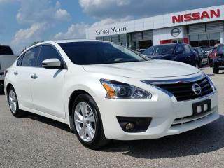 Used 2015 Nissan Altima 2.5 SL w/all leather,NAV,pwr moonroof,heated seats,rear cam,climate control for sale in Cambridge, ON