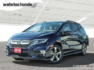 Used 2018 Honda Odyssey EX-L Bluetooth, Back Up Camera, Navigation, and More! for sale in Waterloo, ON
