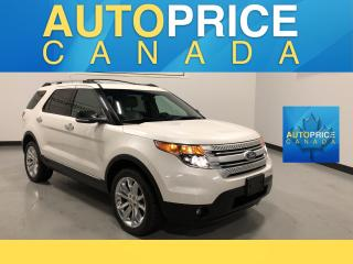 Used 2015 Ford Explorer XLT CLEAN CARPROOF |NAVIGATION|PANOROOF|LEATHER for sale in Mississauga, ON