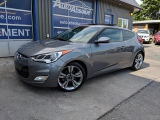 Used 2013 Hyundai Veloster Cuir + Toit + Navi for sale in Boisbriand, QC