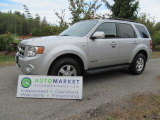 Used 2008 Ford Escape Limited 4WD INSPECTED, WARRANTY, FINANCING! for sale in Surrey, BC