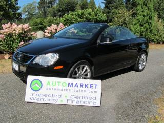Used 2007 Volkswagen Eos HIGHLINE, LEATHER, INSPECTED, FREE WARRANTY FINANCING for sale in Surrey, BC