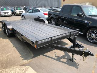 Used 2017 CARGO MATE 612 9900LB GVW DUAL AXLE for sale in Langley, BC