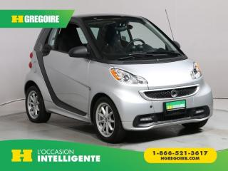 Used 2015 Smart fortwo PASSION ELECTRIQUE for sale in St-Léonard, QC