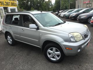 Used 2005 Nissan X-Trail SE/ 4WD/ AUTO/ PANORAMIC SUNROOF/ ALLOYS! for sale in Scarborough, ON