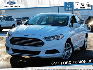 Used 2014 Ford Fusion Se Bluetooth Cruise for sale in Victoriaville, QC